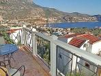 Kalkan from the first floor balcony