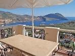 View from the top terrace over Kalkan bay