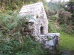 Holy well at St Clether - 1 mile walk