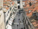 The main street Stradun