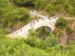 Le pont du diable à THUEYTS