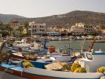 Tranquility in Elounda Harbour