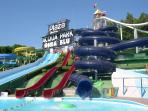 Spend a fun filled day at one of Abruzzo's water parks...