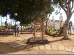 Childrens Play Area in Paralimni Square 5 minutes away