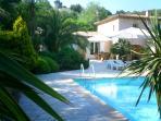 Terrace & Pool area