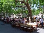 There are plenty of good places to eat, drink and unwind in the historic centre of Uzes