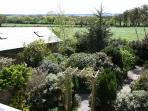 Splendid garden and countryside views from Doyle's Cottage