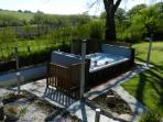 Spectacular swim spa- fun and relaxation in one- available to hire for private use