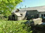 Forge cottage- original stone and slate barn conversion