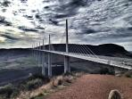 The Millau viaduct across the Gorge du Tarn---worth a day trip