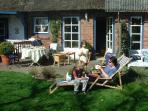 Veranda Wohnung Ose mit direktem Zugang zum Garten