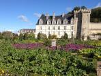 Chateau de Villandry - Autumn sun!