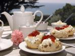 Cream teas  on arrival to help you relax and get ready for a great holiday