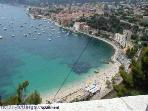 Fantastic sea view holiday apartment with balcony in Villefranche-sur-Mer