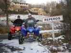 Excursión en quad, salida desde Reperós