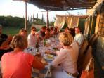 cena in fattoria