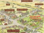Wilncote village