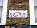 World famous Portobello Market