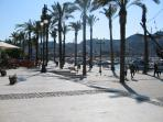 Stroll along the Paseo