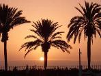 Sunset on the costa blanca