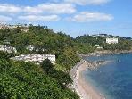 Meadfoot Beach is but a stroll away