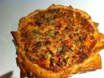 Gruyere and Leek Tart - made to order