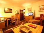 Gästehaus SEEWALD - Fewo 5 'Buche' - Wohnzimmer