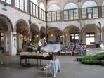 Market in Lucca
