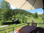 Gästehaus SEEWALD - Fewo 5 'Buche' - Balkon
