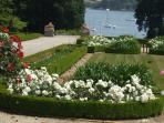 Montmarin - beautiful gardens and arborium near Saint Malo, on the banks of the River Rance