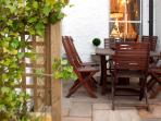 Cafe al fresco or dinner? Your choice....