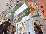 Quay Climbing in Exeter's old power station, venue is fab, great coffee  shop to watch the action