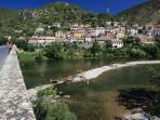 River Swimming at Roquebrun