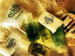 Complimentary selection of toiletries