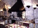 Local gourmet restaurant ' La Forge' - 15 mins walk