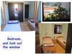 Bedroom, view through window