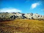 Mountain Scapes around Lake Vinuela