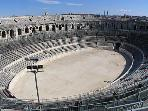 The Roman Amphitheatre of Nimes.