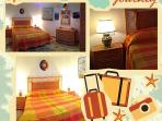 camera matrimoniale 'arancione'