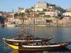 View from Port Wine 'Caves' to Oporto UNESCO