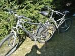 2 Montainbikes zur freien Verfügung