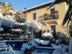Unique winter-day