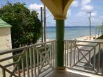 Sea view from balcony towards northwest