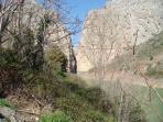 The Gorge at El Chorro