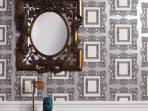 Designer details and whimsical wallpapers
