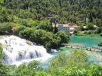 National park Krka - 58 km from the villa