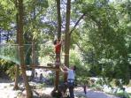 Adventure Park in the village