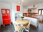 Retro Kitchen Diner with all mod cons