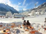 Beautiful Scenery of Kranjska Gora Ski-slopes