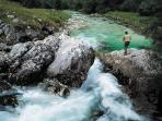 Quality fishing at Soca river, 30min. drive...
